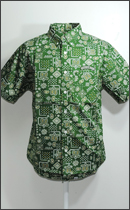 SEVENTY FOUR - PAISLEY SHIRTS S/S -Green-