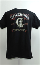 CALEE - OLD SIGN T-SHIRT -Black-