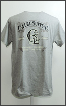 CALEE - OLD SIGN T-SHIRT -Charcoal-
