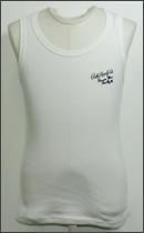 CALEE - TANK TOP -White-