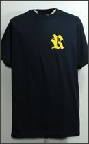 RAH - WAPPEN TEE S/S -Navy/Yellow-