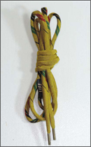L.I.F.E - KMN Shoelace Belt -Yellow-