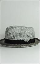 SEVENTY FOUR - BRAID HAT -Grey-