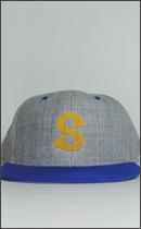 SEVENTY FOUR - BASE BALL CAP -Grey/Blue-