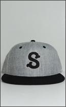SEVENTY FOUR - BASE BALL CAP -Grey/Black-