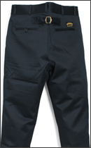 SEVENTY FOUR - CHINO WORKER PANT -Navy-