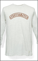SEVENTY FOUR - ROUND LOGO 3/4 SLEEVE -Natural-
