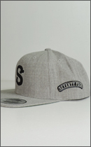 SEVENTY FOUR - BASE BALL CAP -H.Grey-