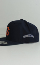 SEVENTY FOUR - BASE BALL CAP -Navy-