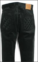 SEVENTY FOUR - TYPE 2B CORDUROY PANT -Black-