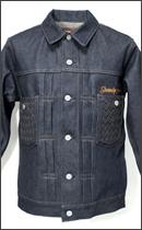 SEVENTY FOUR - TYPE 2 Denim Jacket -Black-