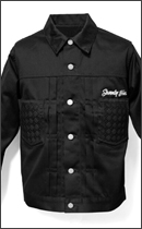 SEVENTY FOUR - TYPE 2 TWILL JACKET -Black-