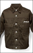 SEVENTY FOUR - TYPE 2 TWILL JACKET -Brown-