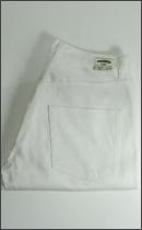 SEVENTY FOUR - 5POCKET SLIM FIT PANTS -White-