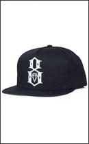 REBEL8 - LOGO SNAPBACK -Black-