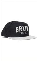 BRIXTON - ARDEN 2 -Black/Lt.H.Grey-