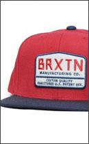 BRIXTON - AXLE -Red/Navy-