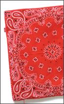 tokyo gimmicks - Bandana Cushion Cover -Red-