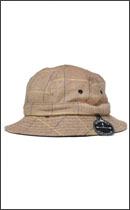 BRIXTON - BANKS BUCKET HAT -Tan/Brown-