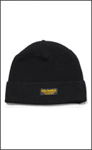 CALEE - WOOL KNIT CAP -Black-