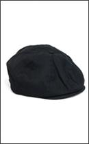 BRIXTON - BROOD Black Herrincbone