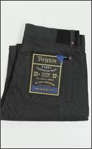 BRIXTON - FLEET RIGID RELAXED FIT CARPENTER PANT -Charcoal-