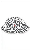 tokyo gimmicks - Reversible BUCKET HAT -Zebra-