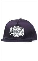 CALEE - T/C TWILL WAPPEN CAP -Purple-