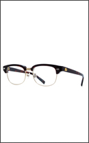 CALEE - SIRMONT BROW GLASSES -Brown x Clear-