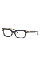 CALEE - WELLINGTON GLASSES (NOSE PAT) -Demi/Clear-