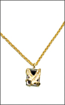 CALEE - EAGLE NECKLACE -Gold-