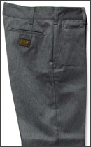 CALEE - T/C TWILL CHINO PANTS -Grey-