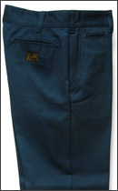 CALEE - T/C TWILL CHINO PANTS -Navy-