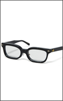 CALEE - WELLINGTON GLASSES (NOSE PAT) -Black-