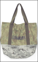 tokyo gimmicks - ONE AND ONLY SERIES COTTON RIP STOP CAMO TOTE BAG -L-