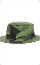 tokyo gimmicks - REVERSIBLE BUCKET HAT -Sweden Camo / Check-