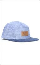 BRIXTON - CAVERN FIVE PANEL CAP -Blue/Navy-