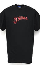 PRILLMAL - CHAKARIPT13!!! S/S T-SHIRTS -Black/Red-