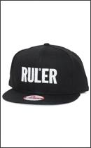 RULER - ICON NEW ERA Snapback Cap -Black-