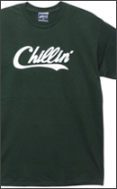 PRILLMAL - Chillin' Errday !!! S/S T-SHIRTS -Green-