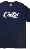 PRILLMAL - Chillin' Errday !!! S/S T-SHIRTS -Navy-