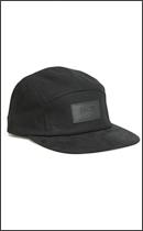 BRIXTON - CAVERN SNAP CAP -Black-