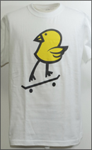 MAD.TK. - KILLY BIRD FILL-IN Tshirt -White-
