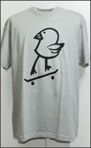MAD.TK. - KILLY BIRD Tshirt -H.Grey-