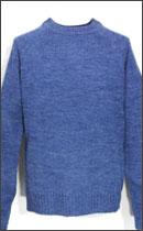 BRIXTON - EMMON SWEATER -Washed Blue-