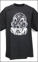 ESTEVAN ORIOL - Joker Day Of The Dead Tee -Black -