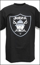 ESTEVAN ORIOL - Joker Nation Tee -Black -