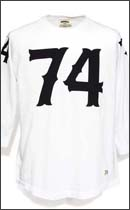 SEVENTY FOUR - 74 RAGLAN 3/4 T SHIRT -White-