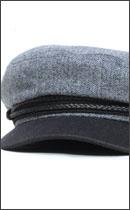 BRIXTON - FIDDLER -Grey/Black-