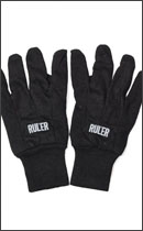 RULER - COTTON WORK GLOVE -Black-